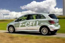 Mercedes F-Cell B-Class hydrogen fuel cell car