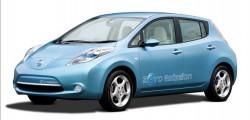 2010 Nissan LEAF plug-in electric car