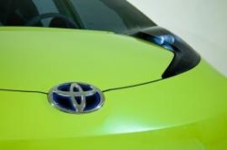 Toyota Hybrid Minicar Concept Intro at Detroit Auto Show