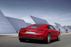 Audi E-Tron Plug-In Electric Sportscar