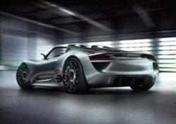 Porsche 918 Spyder Hybrid Supercar Debuts at Pebble Beach Concours