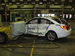 2011 Chevrolet Cruze Side Impact Test