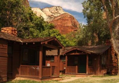 best green hotels in USA Zion Lodge