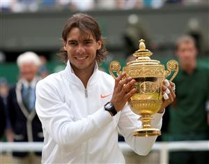 Wimbledon tennis trophy