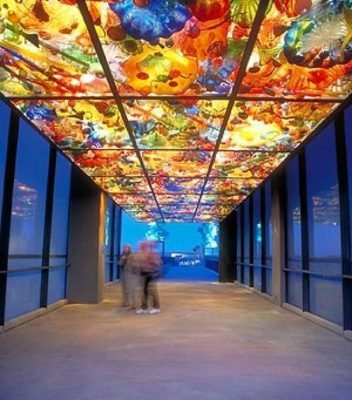 Chihuly Glass,Chihuly glass ceiling Norton Mueum