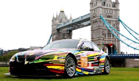BMW Art Cars Exhibit at 2012 London Olympics