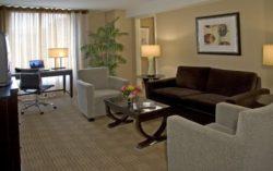 Hyatt Regency DC suite
