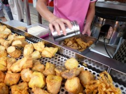 Taiwan night markets street food