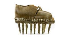 Bata Shoe Mueum chestnut crushing shoe