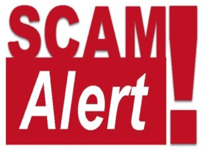 scam alert emails from David DeSantis