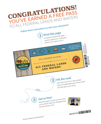 every kid in a park free passes