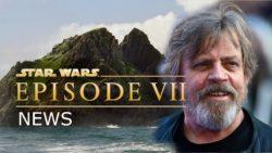 Star Wars scenes on Ireland coast