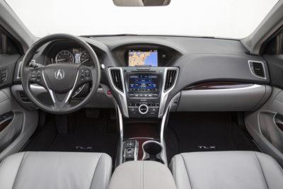autonomous driving acrua tlx_ecoxplorer