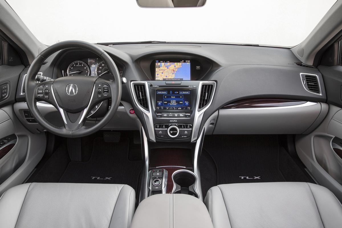 2015 Acura TLX Interior V6 - ecoXplorer