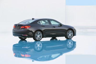 autonomous driving acura tlx