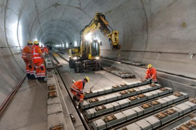 world's longest train tunnel opens in switzerland