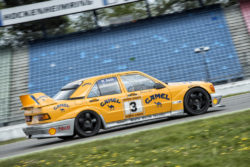 Racetrack driving for Mercedes-Benz owners