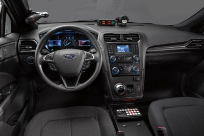 Ford pursuit-rated hybrid police vehicle