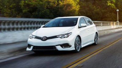 Best 2017 card under $18,000 Toyota Corolla