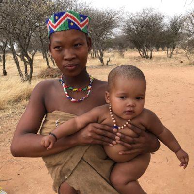 Namibia San Tribe (C) Copyright Evelyn Kanter