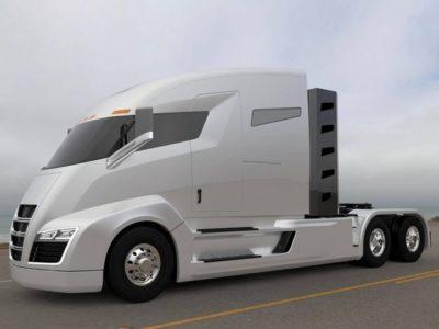 nikola electric truck