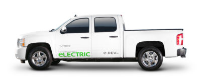 via electric truck