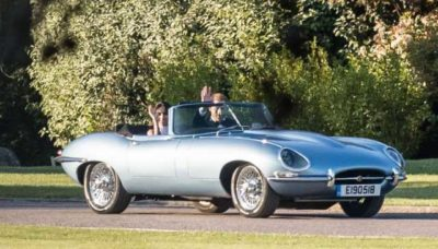 Prince Harry & Meghan Markle Jaguar