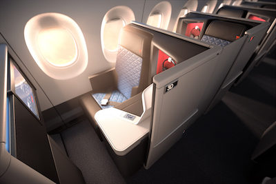 best business class seats