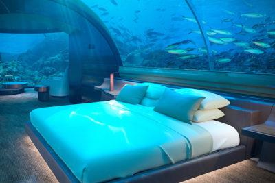 underwater hotel opens in maldives