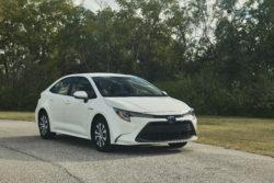 2020 Toyota Corolla Hybrid Test Drive