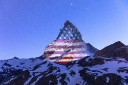 Virtual Flags Cover Matterhorn to Salute World's Nations