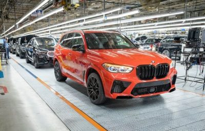 BMW produces five millionth vehicle in USA