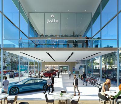 Jolta first EV dealership