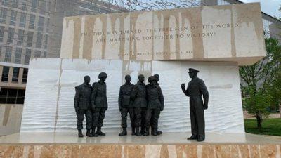 Eisenhower Memorial Washington DC