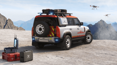 Land Rover giveaway