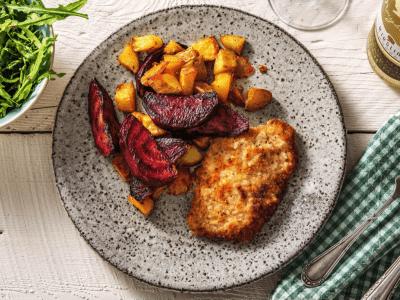 how to make German pork schnitzel