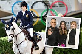 Bruce Springsteen's daughter Jessica is member of the USA Olympic Equestrian Team